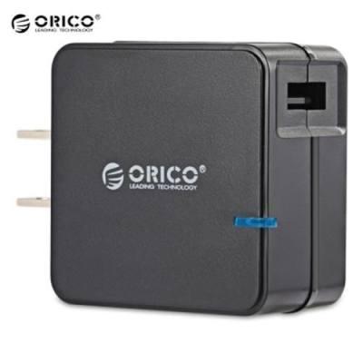 ORICO QCW - 1U 18W QC 2.0 SINGLE USB SMART WALL CHARGER (BLACK)