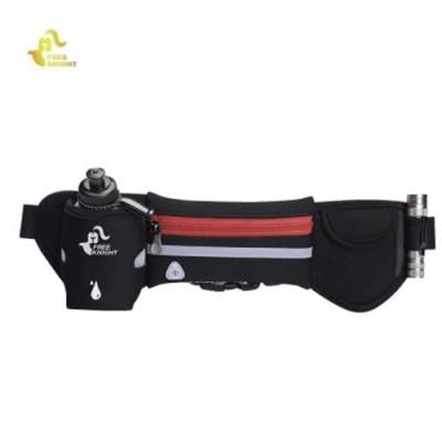 FREEKNIGHT FK1019 RUNNING WAIST BAG WITH REFLECTIVE STRAP (RED)