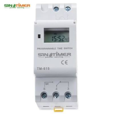 SINOTIMER 220V MICROCOMPUTER TIME SWITCH (WHITE)