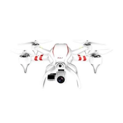 JYU HORNET S RACING QUADCOPTER 2.4GHZ 6 AXIS GYRO 4K HD CAMERA WITH GIMBAL GPS HOVERING FPV VERSION (WHITE)