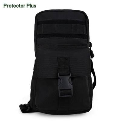 PROTECTOR PLUS HIKING CAMPING CHEST PACK (BLACK)
