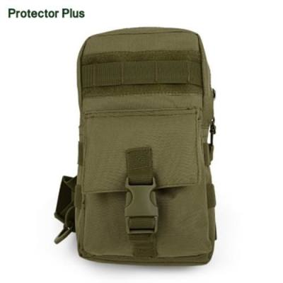 PROTECTOR PLUS HIKING CAMPING CHEST PACK (BROWN)