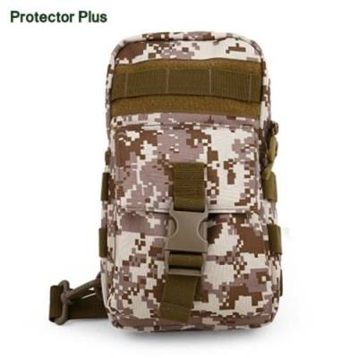 PROTECTOR PLUS HIKING CAMPING CHEST PACK (MARPAT DESERT)