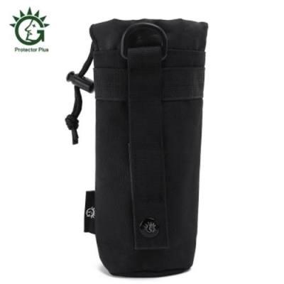 PROTECTOR PLUS UNISEX DURABLE NYLON KETTLE BAG FOR 550ML DRINK (BLACK)