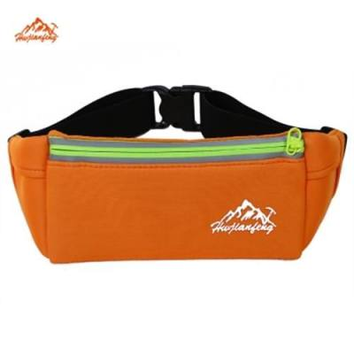 HWJIANFENG WATERPROOF OUTDOOR WAIST BAG WITH REFLECTIVE STRIPE (ORANGE)