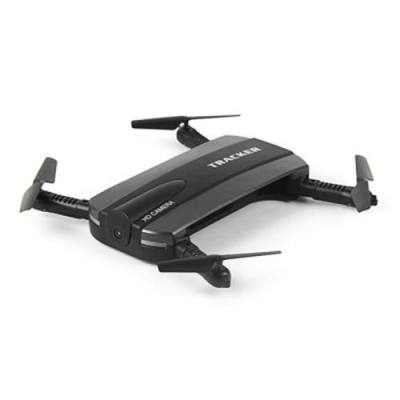 JXD 523 MINI FOLDABLE RC POCKET DRONE BNF WIFI FPV 0.3MP CAMERA / G-SENSOR MODE / AIR PRESS ALTITUDE HOLD (BLACK)