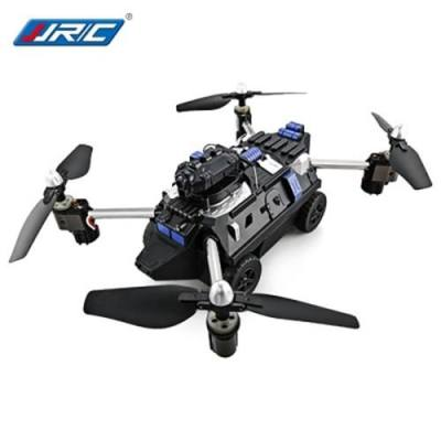 JJRC H40WH 2-IN-1 RC FLYING TANK QUADCOPTER - RTF WIFI FPV 720P HD / ONE KEY TRANSFORMATION / AIR PRESS ALTITUDE HOLD (BLACK)