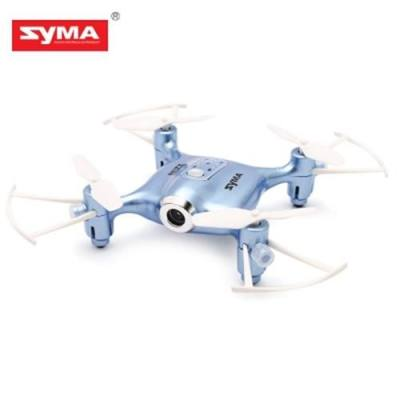 SYMA X21W MICRO RC QUADCOPTER RTF WIFI FPV 0.3MP CAMERA / ALTITUDE HOLD / 3D FLIP (BLUE)