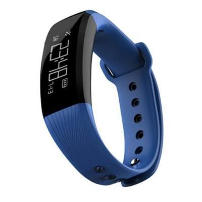 M89 SMARTBAND GPS IP67 WATERPROOF HEART RATE MONITOR REMOTE CAMERA FIND PHONE   (BLUE)