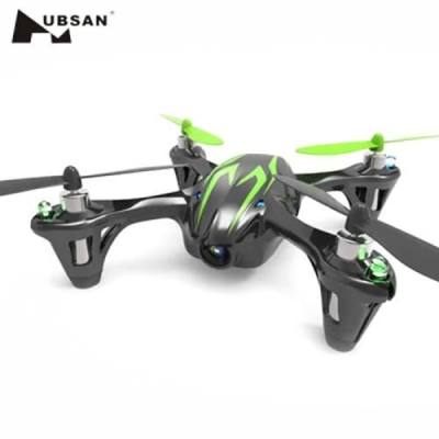 HUBSAN X4 H107C 2.4GHZ 6 AXIS GYRO 4 CH QUADCOPTER WITH 0.3MP CAMERA (BLACK AND GREEN)