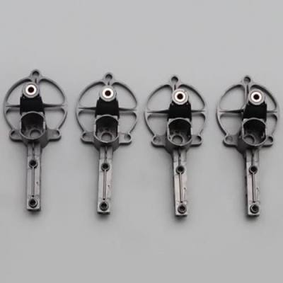 YIZHAN TARANTULA X6 / JJRC H16 QUADCOPTER SPARE PART MOTOR MOUNT SET - 4PCS / SET (BLACK)