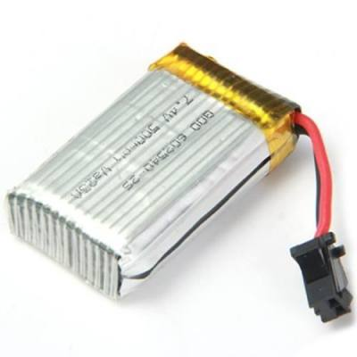 SPARE 7.4V 500MAH LIPO BATTERY FITTING FOR JJRC H8C H8D RC QUADCOPTER (SILVER)