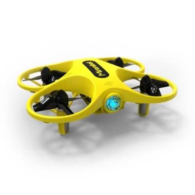 MIRAROBOT S60 BRUSHED RC DRONE RTF 5.8G TRANSMITTER THREE AND SIX AXIS MODE (YELLOW)