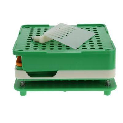 100 Holes Manual Capsule Filler with Powder Block Board (GREEN)