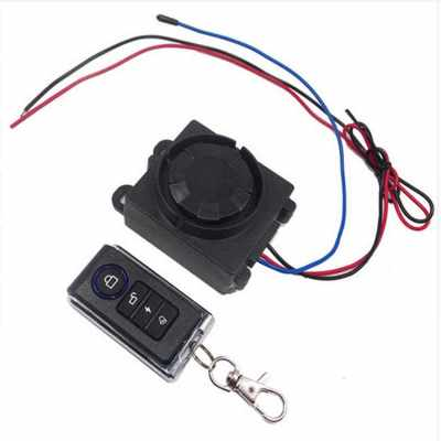 Motorcycle simple alarm alarm square type alarm 12V A (Standard)