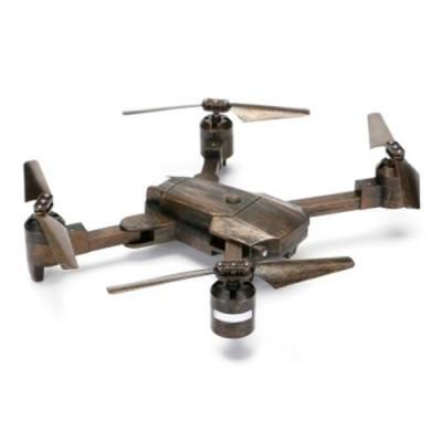 ATTOP XT - 1 FOLDABLE RC DRONE WIFI FPV CAMERA / ALTITUDE HOLD / HEADLESS MODE / 360-DEGREE FLIP (BRONZE)