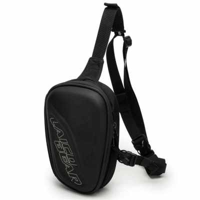 2019 motorcycle leg bag chest bag waterproof riding bag motorcycle equipment bag cross-body bag Fanny bag racing bag size black (Black)
