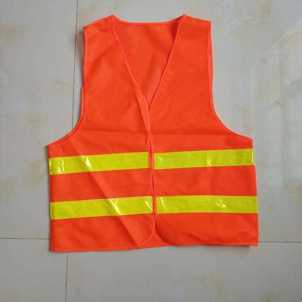 [ RU Shop ] Factory direct reflective vest sanitation reflective vest car traffic low elastic warp-knitted reflective clothing wholesale custom (Ale2224566)