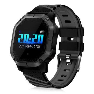 K5 Intelligent Smart Watch Blood Pressure IP68 Fitness Bracelet Color Display Sport Band (BLACK)