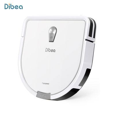 Dibea GT200 Smart Gyroscope Robotic Vacuum Cleaner Automatic Intelligent Cleaning Robot (CRYSTAL CREAM)
