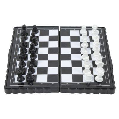 MAGNETIC TRAVEL CHESS SET WITH FOLDING CHESS BOARD FOR KIDS ADULTS (MULTI)