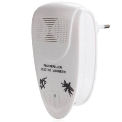 LL - 3110 ULTRASONIC ELECTRIC PEST REPELLER HOME INDOOR PEST CONTROL SOLUTION (WHITE)
