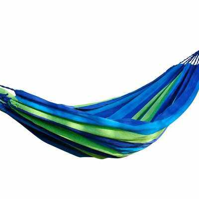 Cotton and Linen Thickened Canvas Hammock (BLUE EYES)