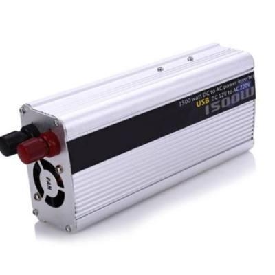 1500W POWER INVERTER DC 12V AC 220V CAR CONVERTER ELECTRONIC USB PORT