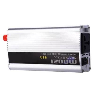 1200W POWER INVERTER DC 12V AC 220V CAR CONVERTER ELECTRONIC USB PORT