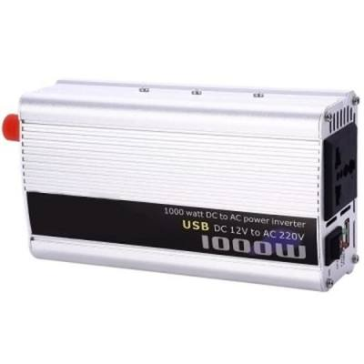 1000W POWER INVERTER DC 12V AC 220V CAR CONVERTER ELECTRONIC USB PORT