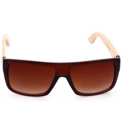 4dcf700340dfe FASHION ANTI-UV SPORTS OUTDOOR SUNGLASSES WITH PLASTIC FRAME (BROWN) -