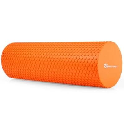 MILY SPORT 5.9 INCHES EVA YOGA FOAM ROLLER BODY MASSAGE GYM FITNESS (ORANGE)