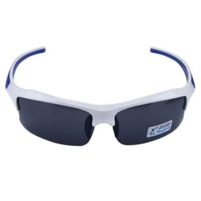XQ-128 PROFESSIONAL POLARIZED CYCLING GLASSES CASUAL SPORTS SUNGLASSES (BLUE AND  WHITE)