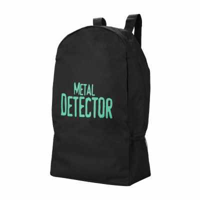 Metal Detector Carry Bag Outdoor Adventure Large Capacity Backpack Canvas Bags (Standard)