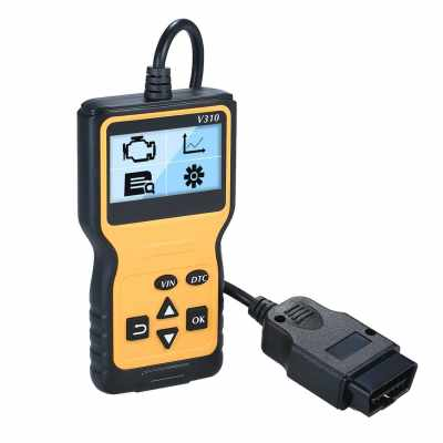 O-B-D2 Scanner Universal O-B-D-II Code Reader Car Automotive Check Engine Light Error Analyzer Auto CAN Vehicle Diagnostic Scan Tool for All O-B-D-II Protocol Cars Since 1996 (Standard)
