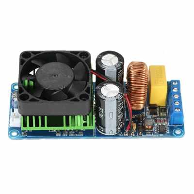 IRS2092S Mono-Channel Digital Audio Amplifier Class D HIFI High Power Amp Board 500W