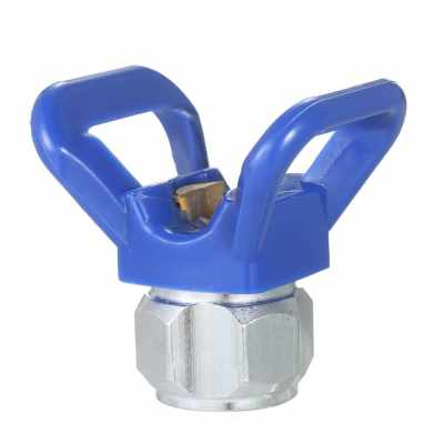 Spray Paint Accessory Universal Tool Airless Paint Spray Gun Flat Tip Nozzle Guard Seat For Graco Titan Wagner Paint  Sprayer (blue)