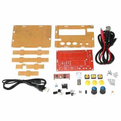AD9833 High Precision Signal Generator DIY Kit Sine/Triangle/Square Output 1~10000Hz Adjustable Step Value (Standard)