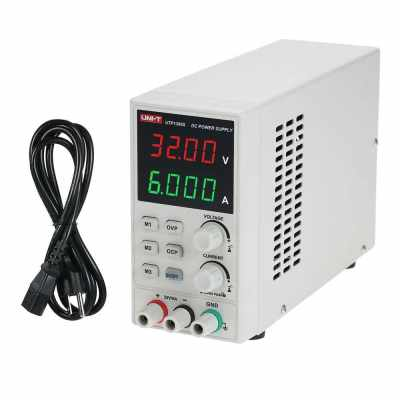 UNI-T UTP1306S Switching DC Adjustable Mini Power Supply 4 Digits Display (Eu)