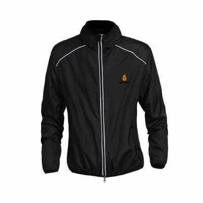 WOLFBIKE Cycling Jersey Men Riding Breathable Jacket Cycle Clothing Bike Long Sleeve Wind Coat Black M (Black)