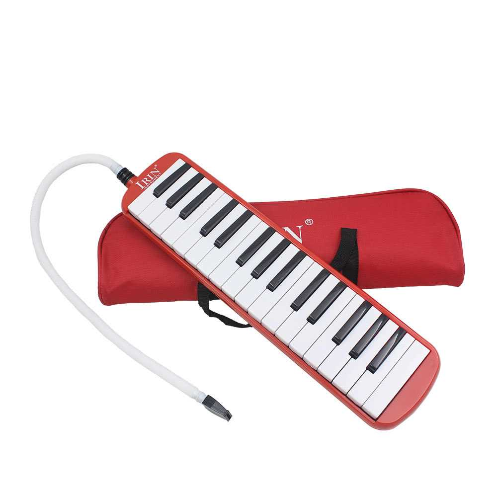 [ MANHATTAN ] 32 Piano Keys Melodica Musical Instrument for Music Lovers Beginners Gift with Carrying Bag (Red) Malaysia