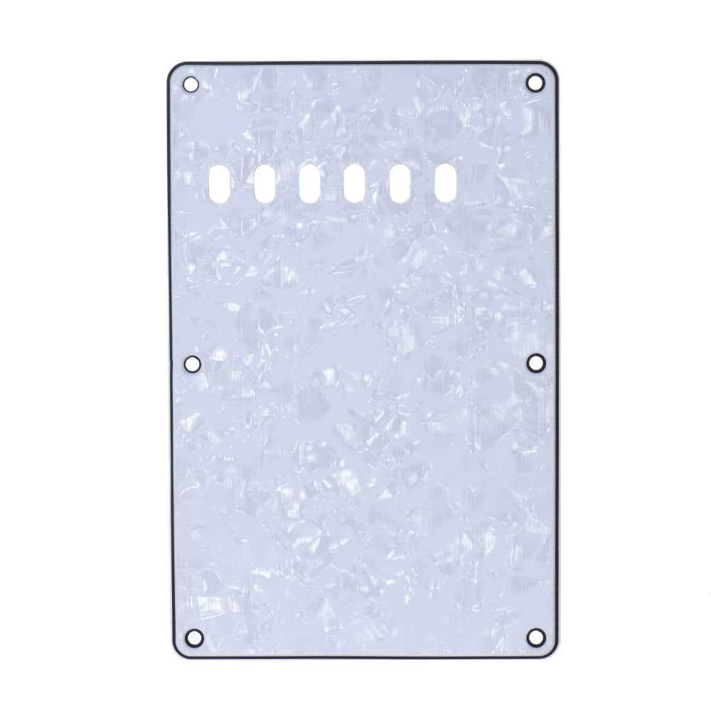 [ MANHATTAN ] Pickguard Back Plate Tremolo Cavity Cover Vintage Style Backplate for Fender Stratocaster Strat ST Standard Modern Style Electric Guitar 4Ply Malaysia