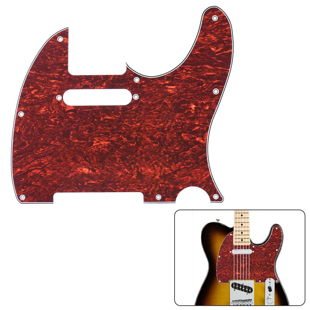 [ MANHATTAN ] Pickguard Pick Guard 4Ply for Fender Telecaster Standard Modern Style Electric Guitar Tortoise Shell Malaysia