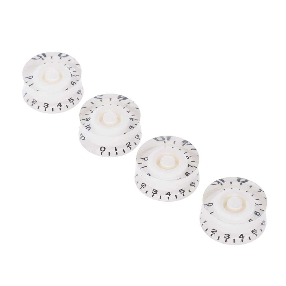 [ MANHATTAN ] 4pcs Speed Volume Tone Control Knobs for Gibson Les Paul Guitar Replacement Electric Guitar Parts Malaysia
