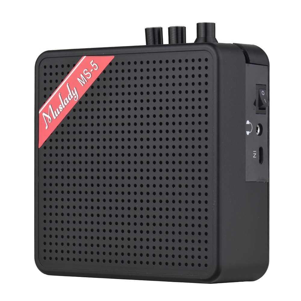 [ MEG.CQ ] Muslady MS-5 Portable Mini Guitar Amplifier Amp Speaker () Malaysia