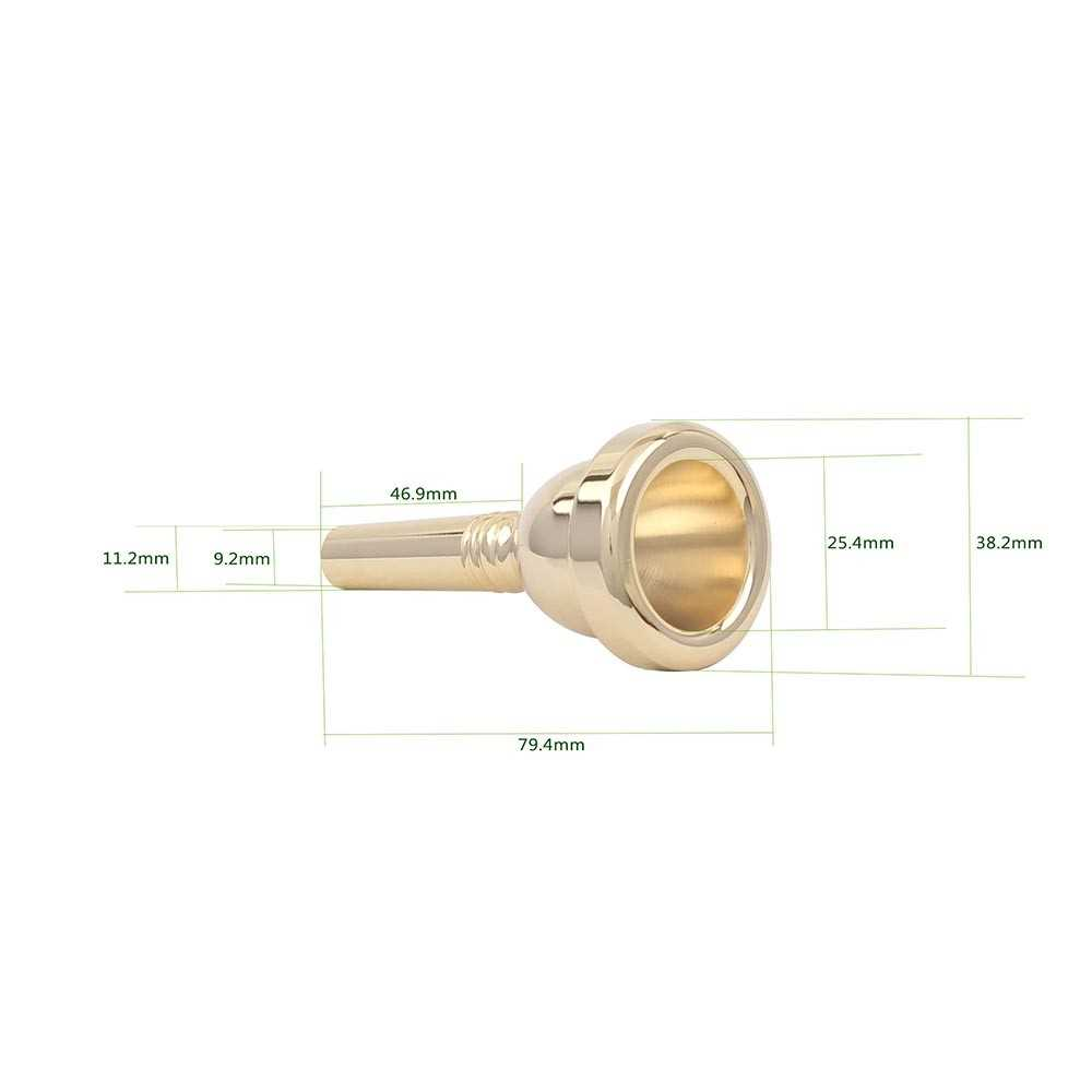 [ MANHATTAN ] Alto Trombone Copper Mouthpiece Mouth Piece 6.5AL (G) Malaysia