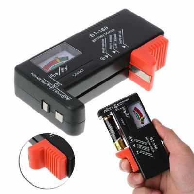 New Indicator Universal Battery Cell Tester AA AAA C/D 9V Volt Button Checker (Standard)