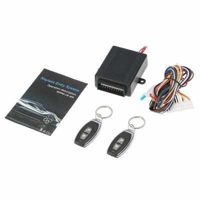 Universal Car Door Lock Keyless Entry System with Remote Central Control Box Kit (1)