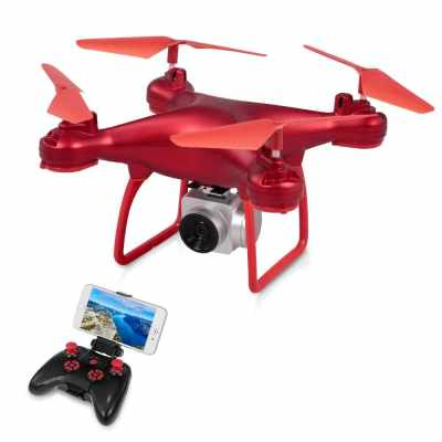YL 008 RC Drone Quadcopter with Camera 720P (Red2)