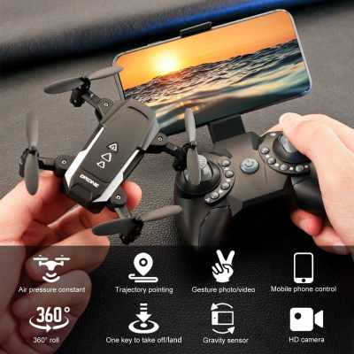 KK8 Mini Drone RC Quadcopter 1080P HD Camera 15mins Flight Time 360 Degree Flip 6-Axis Gyro Altitude Hold Headless Remote Control for Kids or Adults Training 1 Battery (31)
